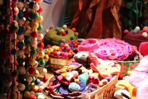 Handicrafts at the Christmas Village