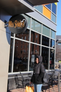 At Miss Shirley's Cafe, Baltimore, MD